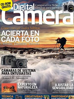 Revista de fotografía, publicidad. Digital Camera. Novedades · Análisis · Accesorios · Cámaras · Software.