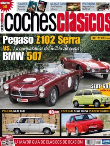 Reportajes y artículos sobre todo tipo de coches clásicos, intentando abarcar toda la historia del automóvil. Asimismo se ofrece una gran variedad de modelos: populares, deportivos de lujo, españoles, extranjeros, etc.